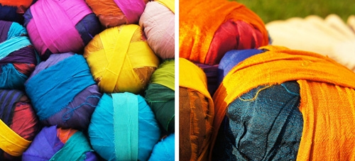 шелковые шары для обивки мягкой мебели