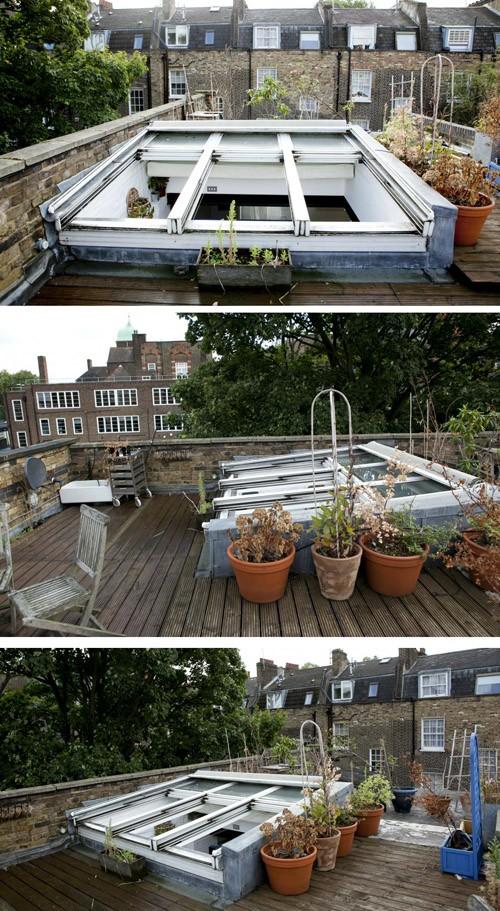 терраса на крыше квартиры