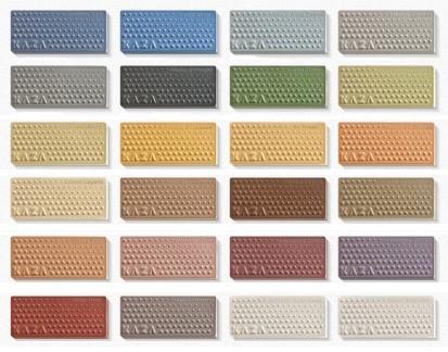 цветовая гамма облицовочной плитки