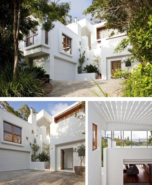 реконструированный фасад дома