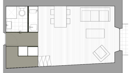 планировка квартиры 28 м2