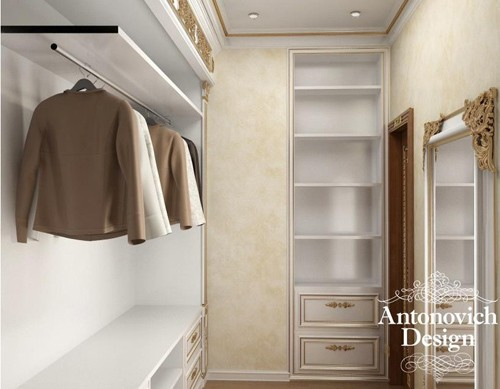 встроенная мебель для гардеробной