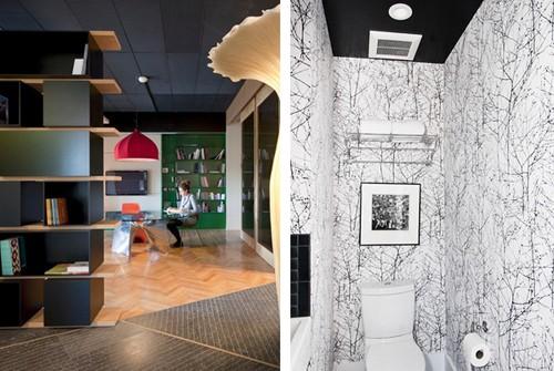 черные потолки визуально уменьшают высоту комнат