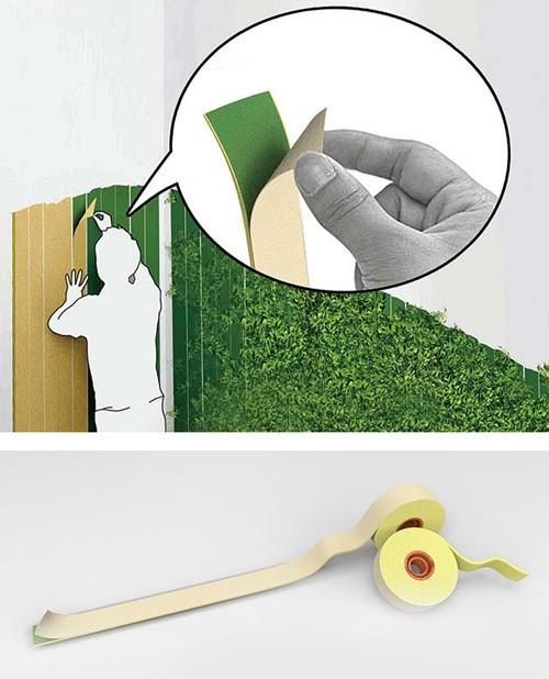 лента Green Tape для создания зеленых стен