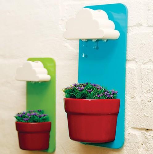 горшок для комнатных цветов с щадящим поливом