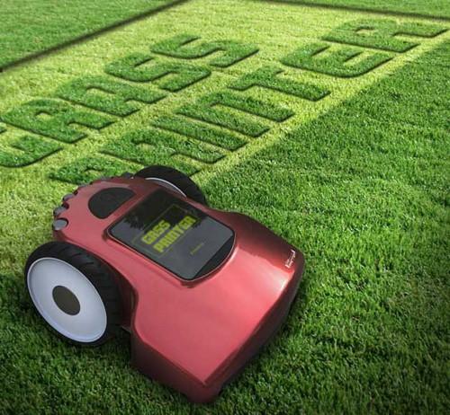 травяной принтер