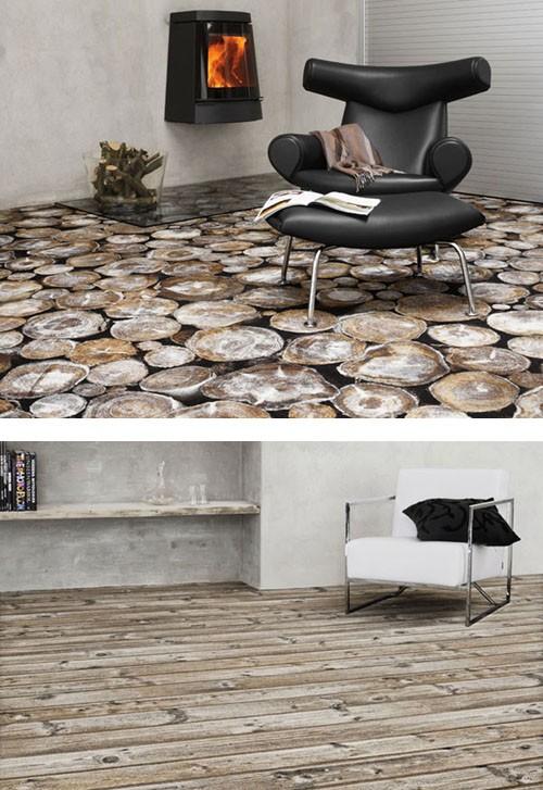 ковры с имитацией натуральных материалов