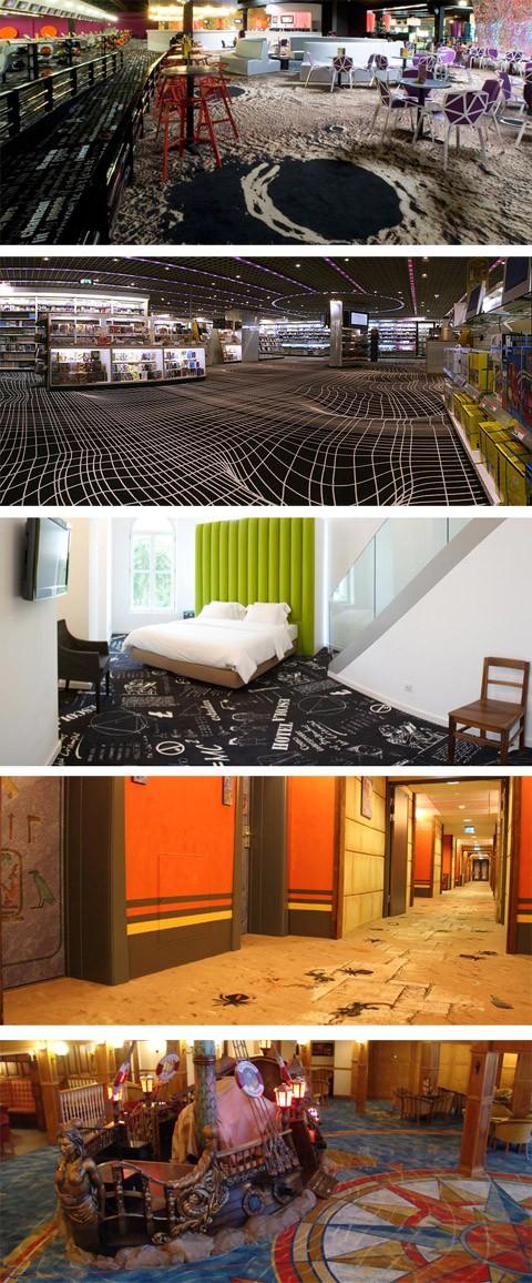 ковры по индивидуальному дизайну