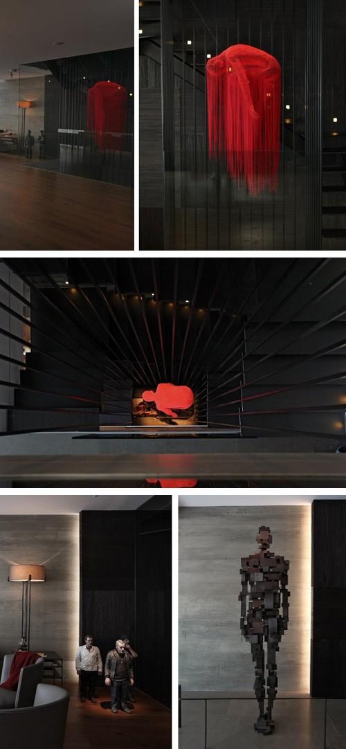 оригинальной декорирование квартиры