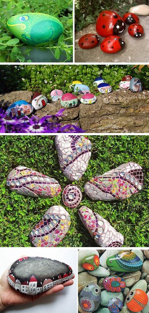 декоративные каменные ландшафтные инсталляции