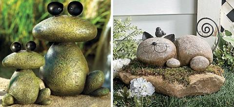 оригинальные каменные скульптуры