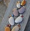 декорирование участка камнями
