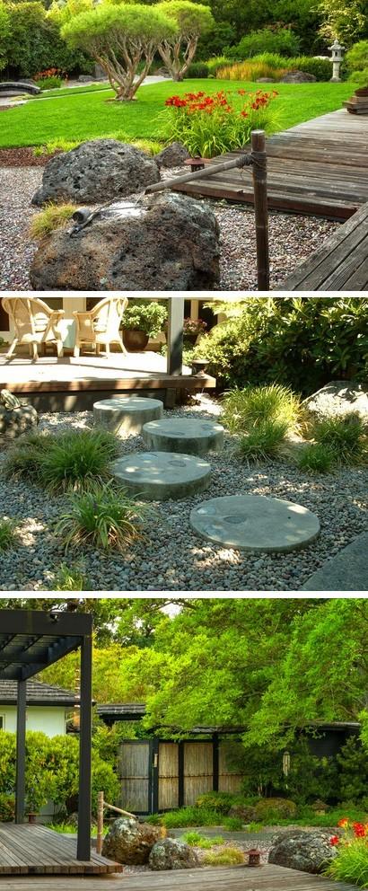 традиционные элементы японского сада