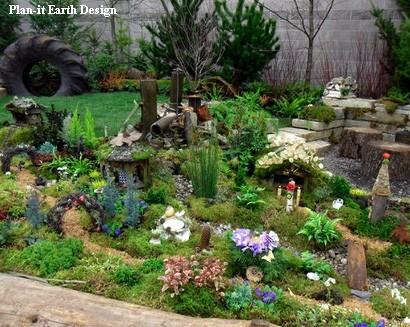 волшебный сад для детских игр