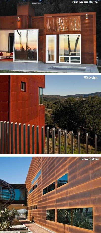 облицовка фасадов стальными панелями