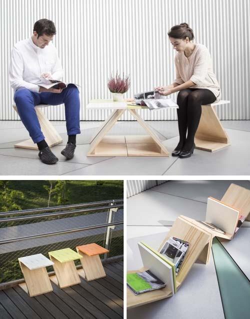 многофункциональные мебельные модули