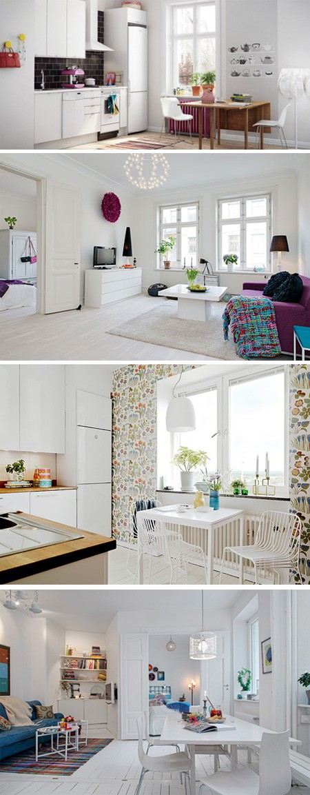 шведский минимализм с яркими контрастами