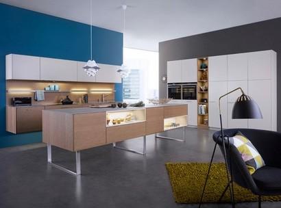 дизайн строва для кухни гостиной