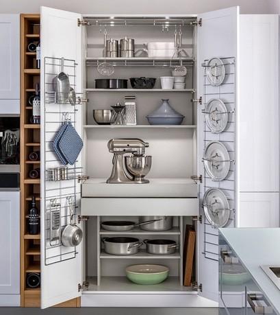 элементы хранения для кухонного шкафа
