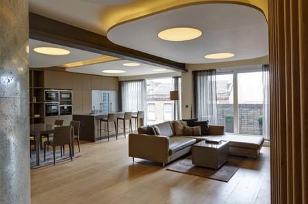 закругленные линии в дизайне современной квартиры