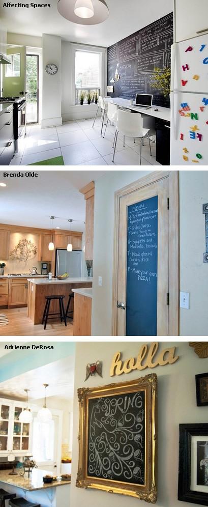 меловые стены, двери и картины