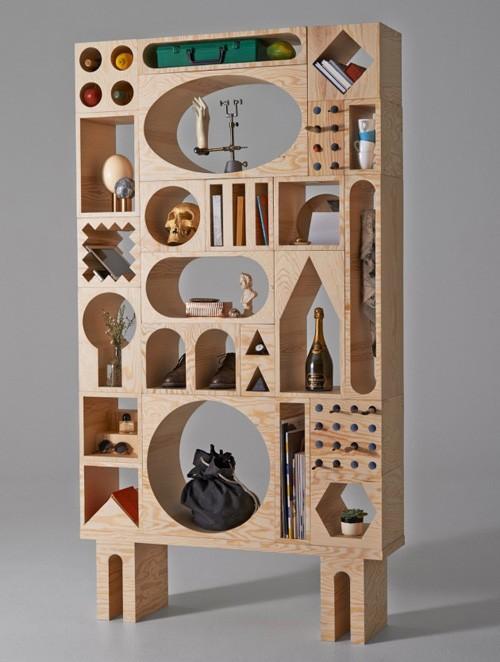мебель для хранения из отдельных блоков