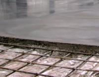 армирование бетонного пола арматурной сеткой