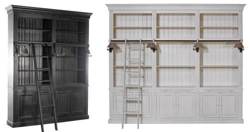 размеры библиотечных шкафов