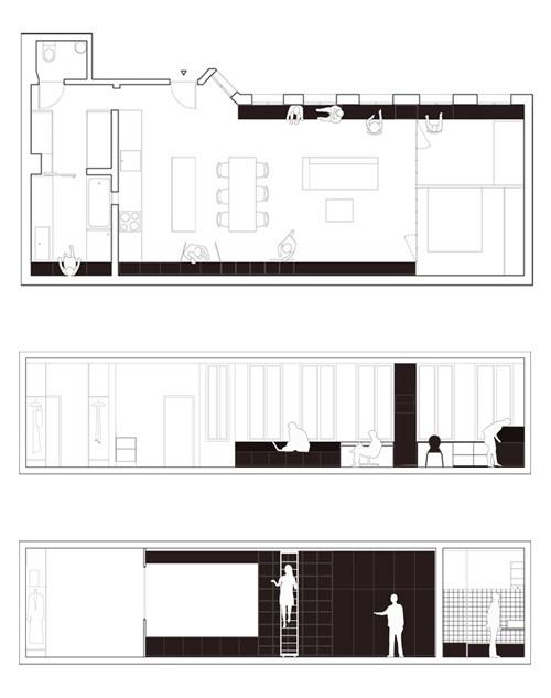 план длинной квартиры
