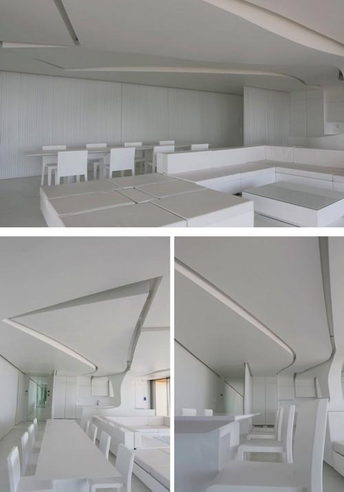 белая мебель в квартире