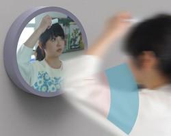 плоская зеркальная поверхность