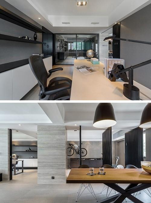 домашний кабинет и тренажерный зал