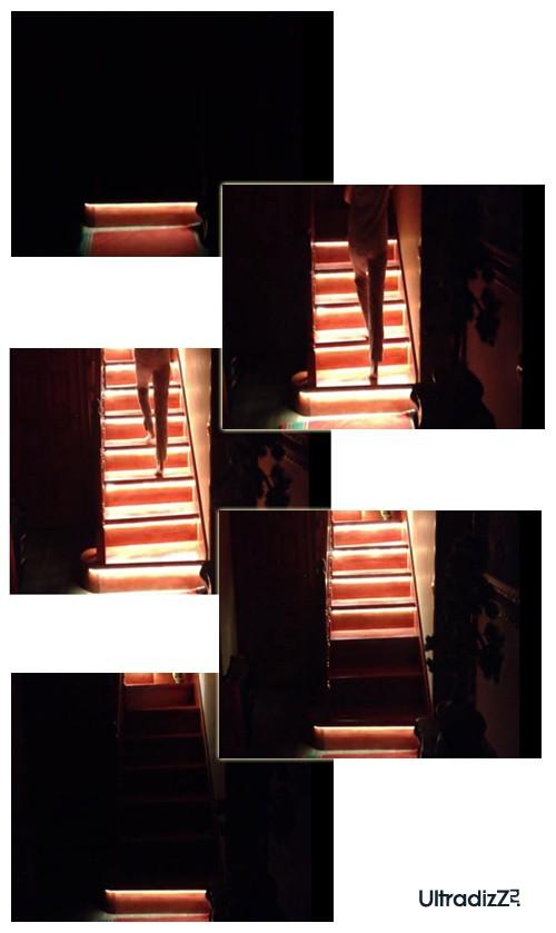 светодиодное освещение лестниц с датчиками движения