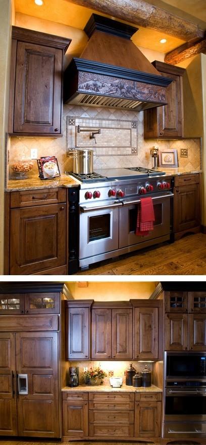 дизайн кухни в ретро стиле