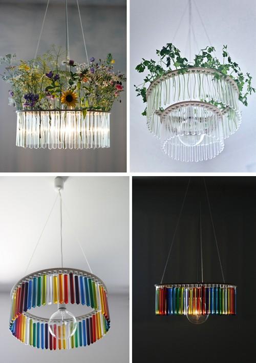 варианты декорирования светильника