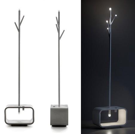 мебель для прихожей со встроенной подсветкой