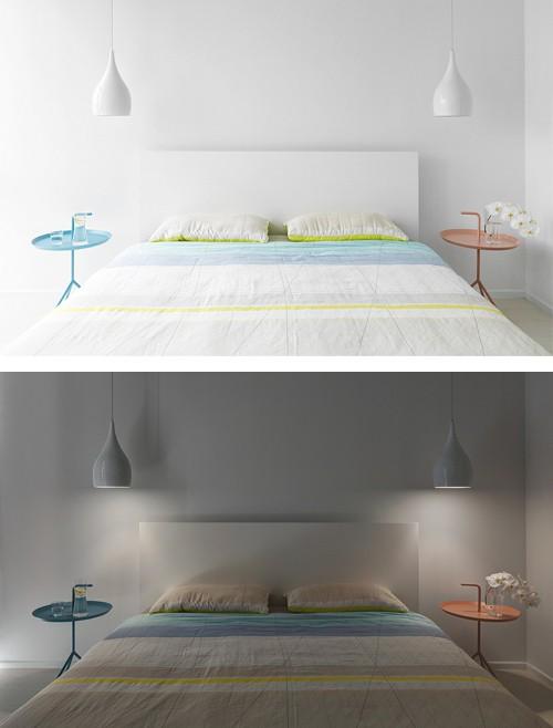 ремонт спальни в стиле минимализм