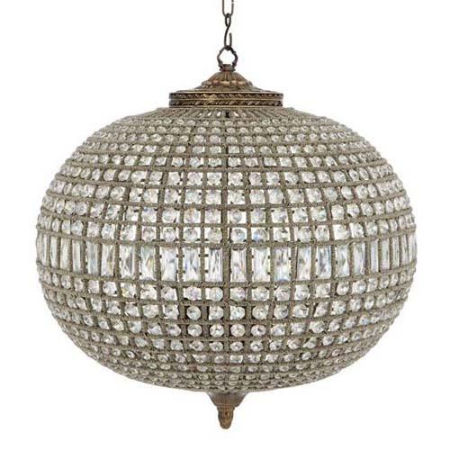 светильник Chandelier Kasbah с кристаллами