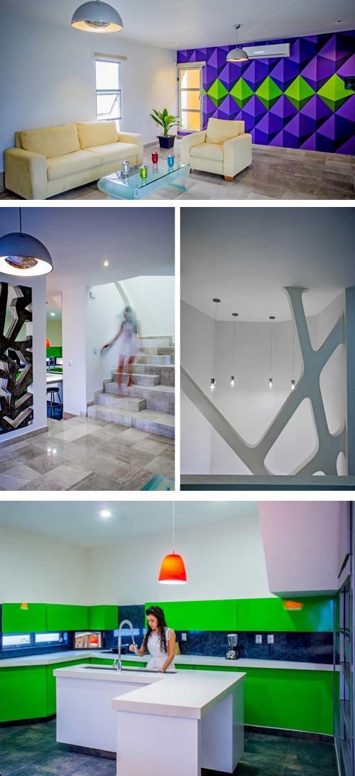 интерьеры первого этажа частного дома