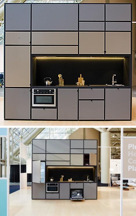 кухонная зона жилого модуля