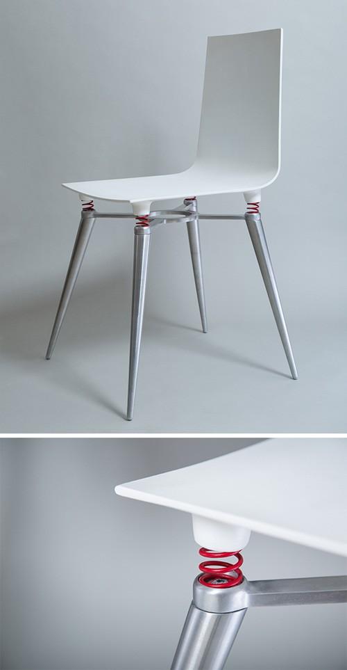 стул с пружинами