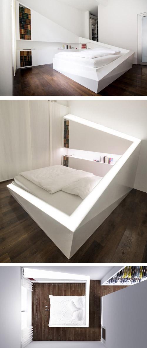 оригинальная кровать из кориана