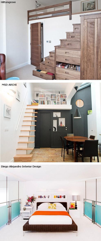 ограждения и лестницы для комнат на втором уровне