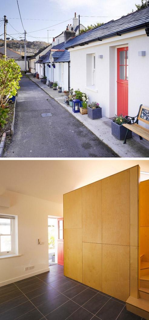 ремонт интерьера маленького дома