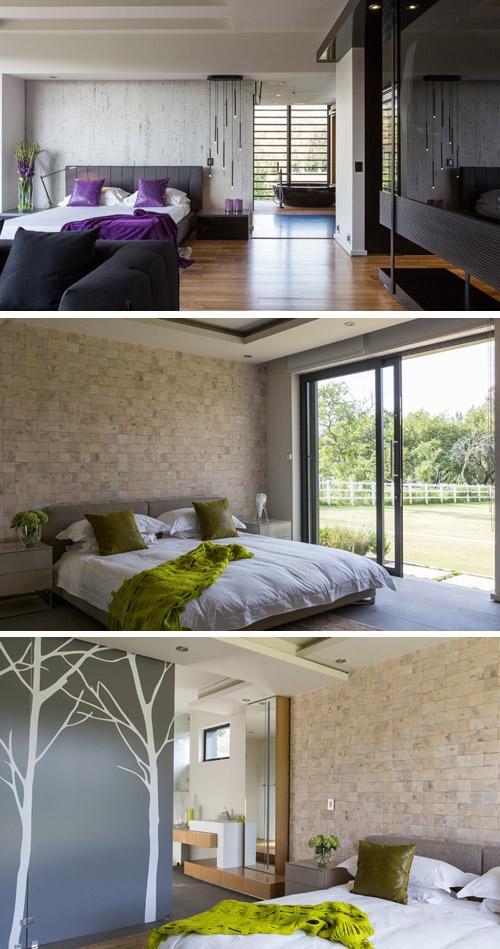 спальни с ванными