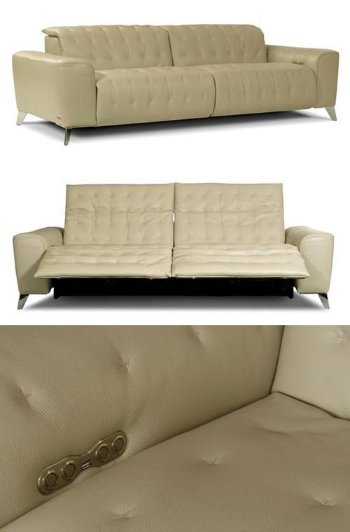 диван с USB портом и индивидуальным управлением