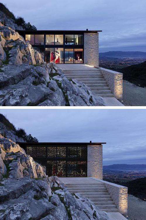 двухэтажный частный дом