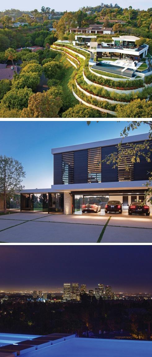 роскошный современный дом