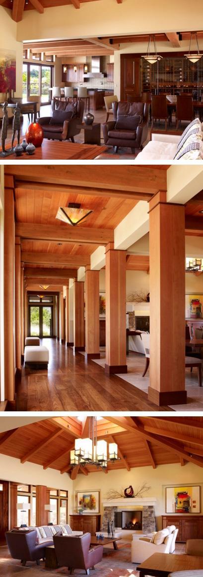 дизайн открытой гостиной с кухней и столовой