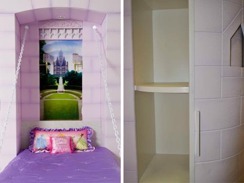 детская кровать в стиле дворца
